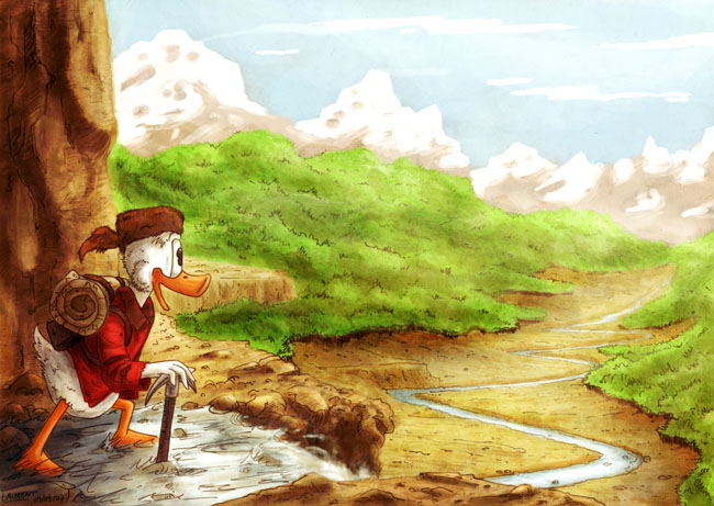 Picsou, le Roi du Klondike