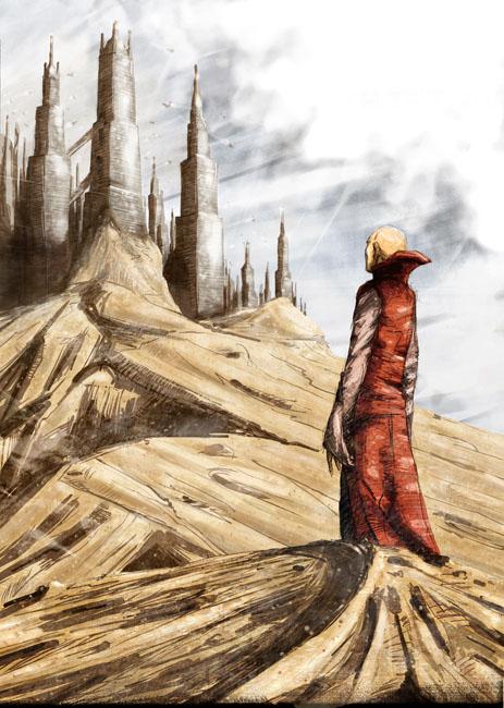 Une citée dans le désert