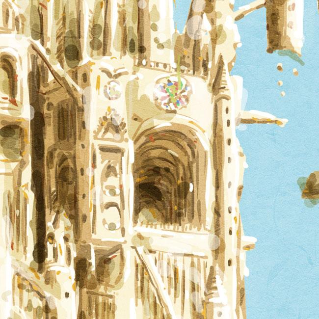 Au sommet de la Cathédrale # 1
