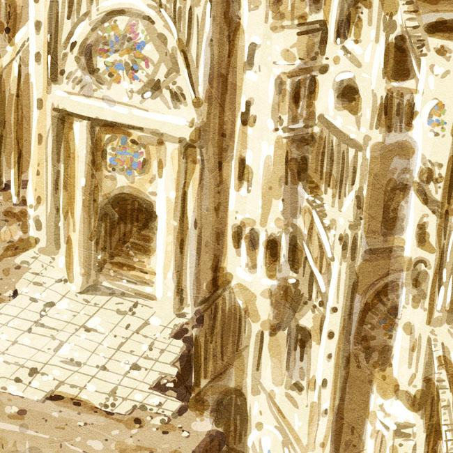 Au sommet de la Cathédrale # 2