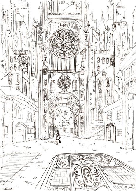 Au sommet de la Cathédrale # 4