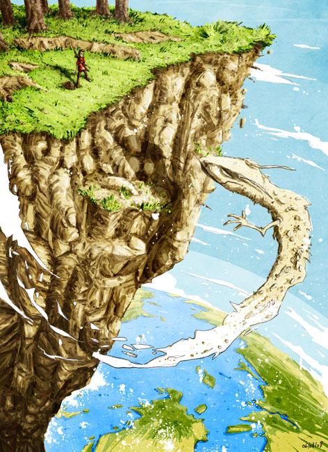 Un pays où les dragons volent