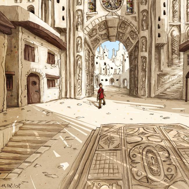 Au sommet de la Cathédrale # 4, détails