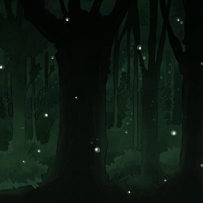 Forêt, détail