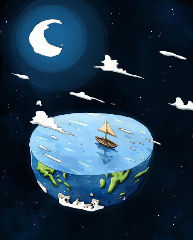 La mer est ronde